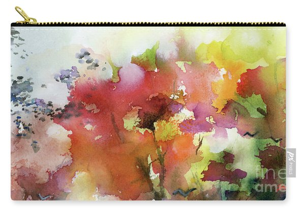 Abstract Bird Migration Autumn Tree Tops Carry-all Pouch