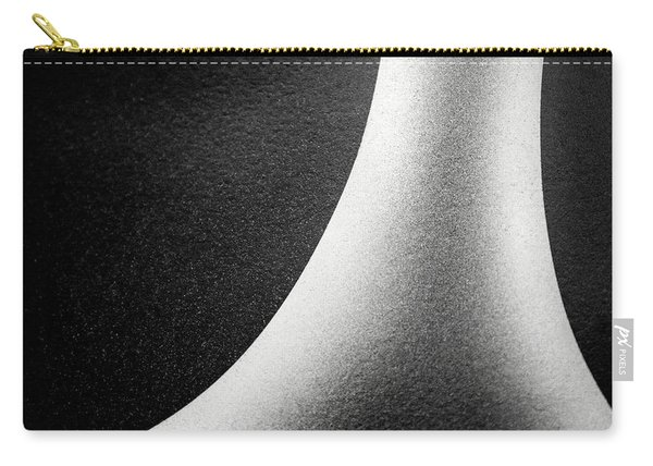 Abstract-black And White Carry-all Pouch