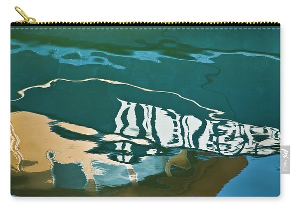 Abstract Boat Reflection Carry-all Pouch