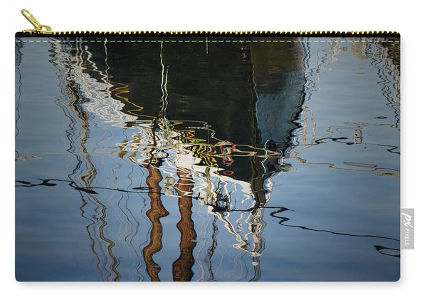 Abstract Boat Reflection IIi Carry-all Pouch