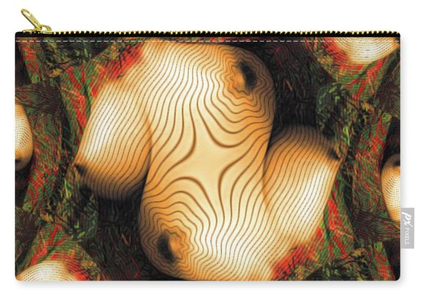 Abstract Breasts By Mb Carry-all Pouch
