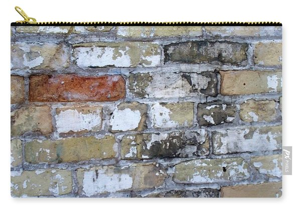 Abstract Brick 10 Carry-all Pouch