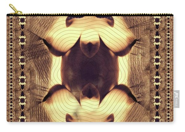 Abstract Burlesque By Mb Carry-all Pouch