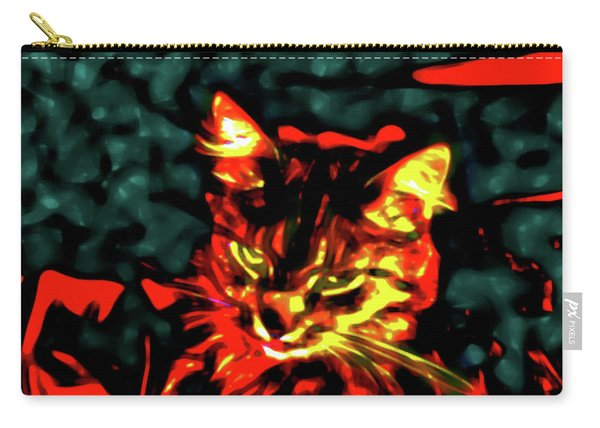 Abstract Cat Carry-all Pouch