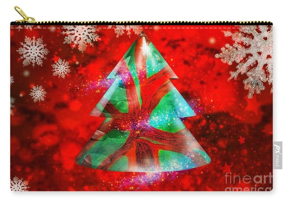 Abstract Christmas Bright Carry-all Pouch