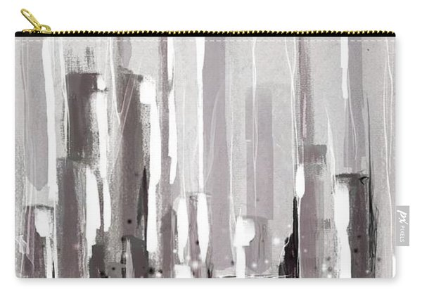 Abstract Cityscape Painting - 1 Carry-all Pouch