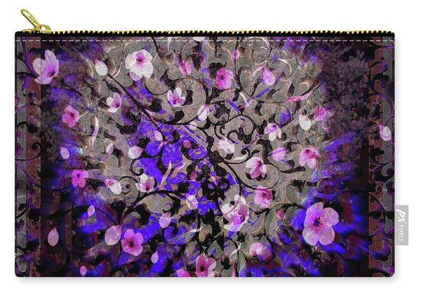 Abstract Cherry Blossom Carry-all Pouch