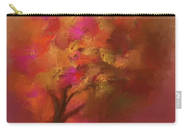 Abstract Colourful Tree Carry-all Pouch