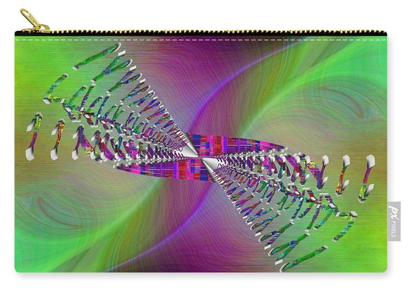 Abstract Cubed 370 Carry-all Pouch