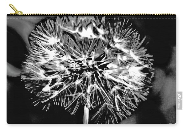 Abstract Dandelion Carry-all Pouch