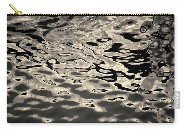 Abstract Dock Reflections I Toned Carry-all Pouch