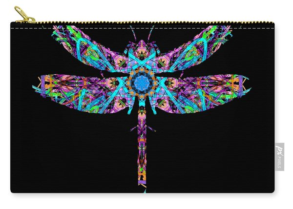 Abstract Dragonfly Carry-all Pouch