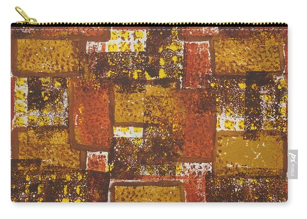 Abstract_ Fall  Carry-all Pouch