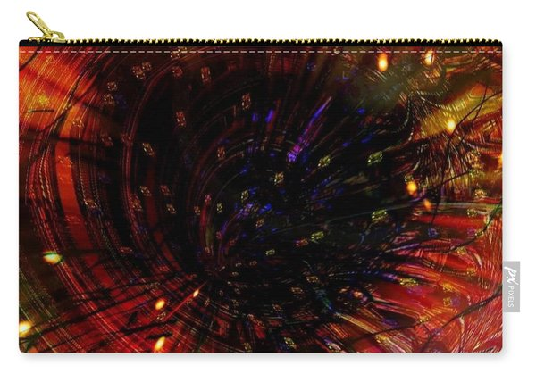 Abstract Fire  Flyer Nest Carry-all Pouch