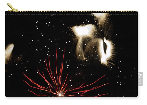 Abstract Fireworks IIi Carry-all Pouch
