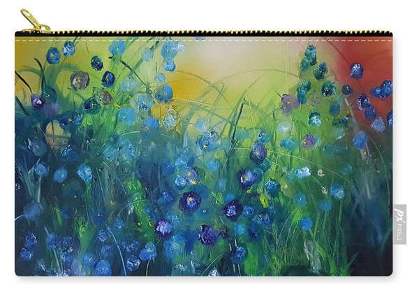 Abstract Flax           31 Carry-all Pouch
