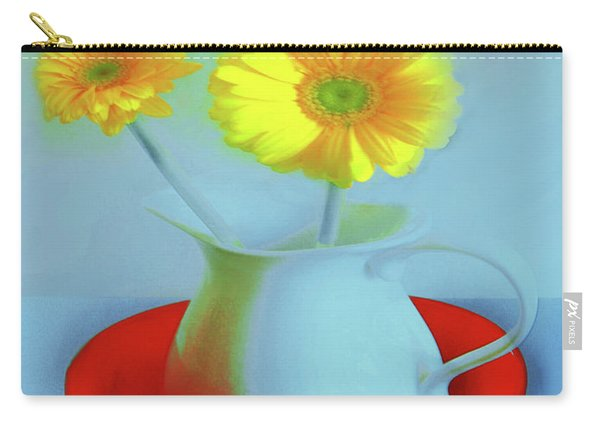 Abstract Floral Art 268 Carry-all Pouch