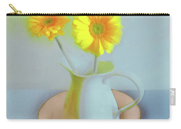 Abstract Floral Art 302 Carry-all Pouch