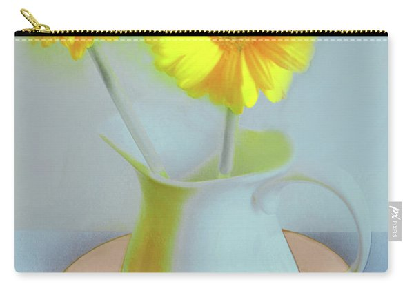 Abstract Floral Art 303 Carry-all Pouch