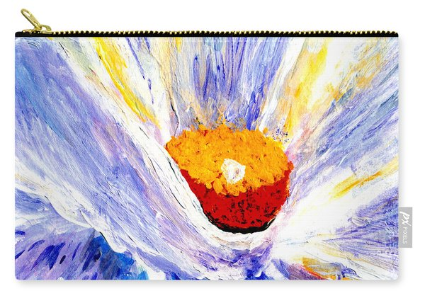 Abstract Floral Painting 001 Carry-all Pouch
