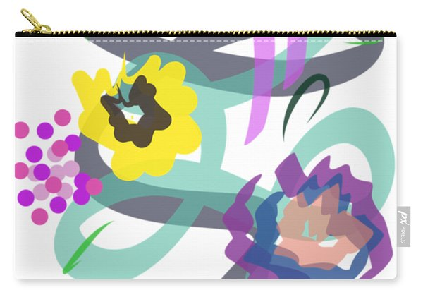 Abstract Garden Nr 4 Carry-all Pouch