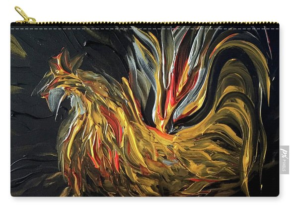 Abstract Gayu Carry-all Pouch