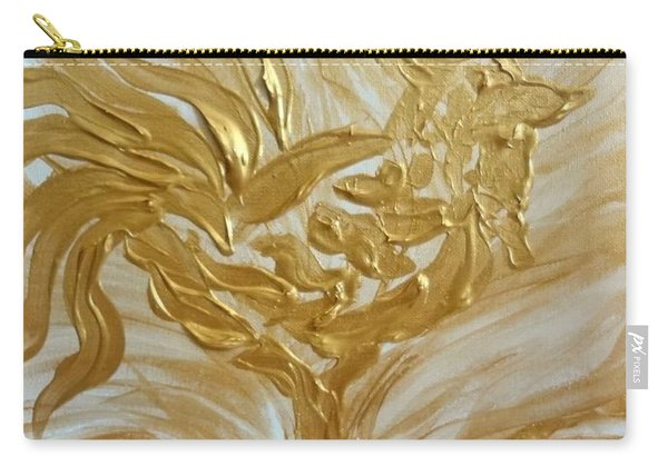 Abstract Golden Rooster Carry-all Pouch