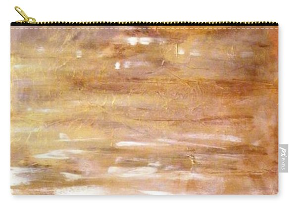 Abstract Golden Sunrise Beach  Carry-all Pouch