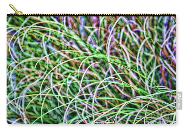 Abstract Grass Carry-all Pouch