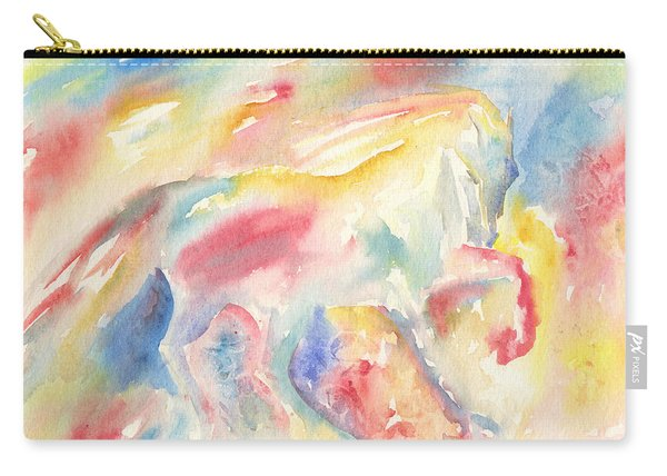 Abstract Horse II Carry-all Pouch