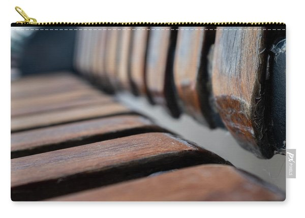 Abstract Image Of A Park Bench Near The Water In Green Bay Wisconsin Carry-all Pouch