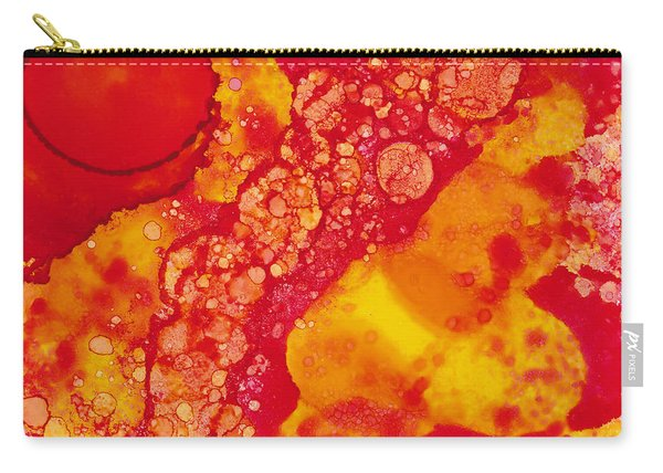 Abstract Intensity Carry-all Pouch