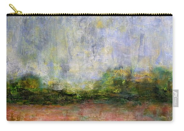 Abstract Landscape #310 - Spring Rain Carry-all Pouch