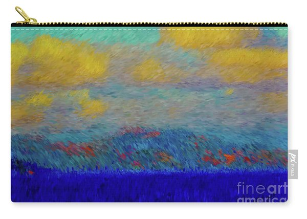 Abstract Landscape Expressions Carry-all Pouch