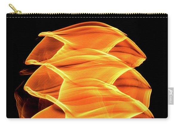 Abstract Light Number 2 Carry-all Pouch