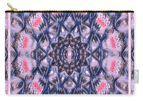 Abstract Mandala Pattern Carry-all Pouch