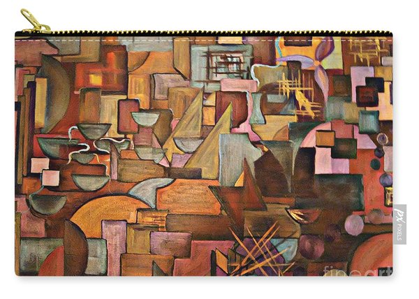 Abstract Mind Carry-all Pouch
