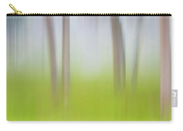 Abstract Moving Trees #1 Background Carry-all Pouch