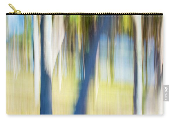 Abstract Moving Trees 30 Carry-all Pouch