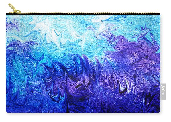 Abstract Ocean Fantasy Five Carry-all Pouch