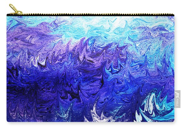 Abstract Ocean Fantasy Four Carry-all Pouch