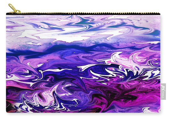 Abstract Ocean Fantasy Three Carry-all Pouch