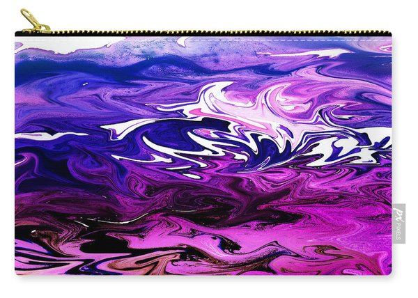 Abstract Ocean Fantasy Two Carry-all Pouch