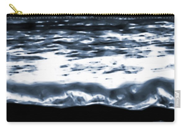 Abstract Ocean Carry-all Pouch