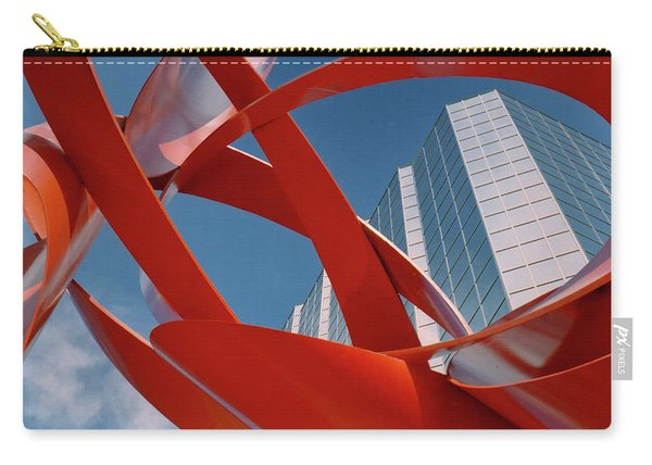 Abstract - Oklahoma City Carry-all Pouch