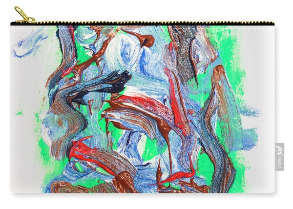 Abstract Painting. Division Is Their Narrative Carry-all Pouch