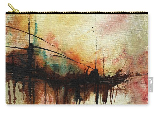 Abstract Painting Contemporary Art Carry-all Pouch