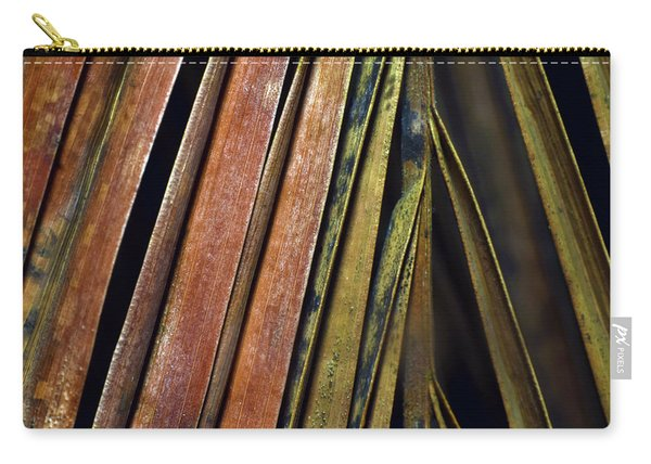 Abstract Palm Frond Carry-all Pouch