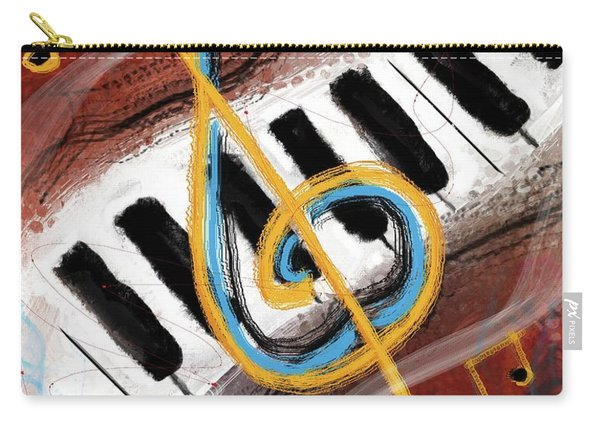 Abstract Piano Concert Carry-all Pouch