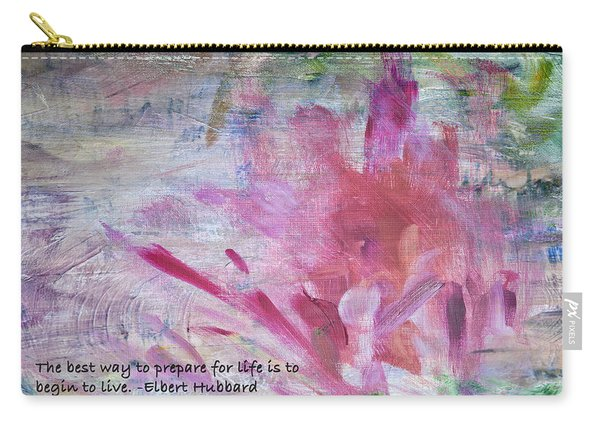 Famous Quotes Hubbard Carry-all Pouch